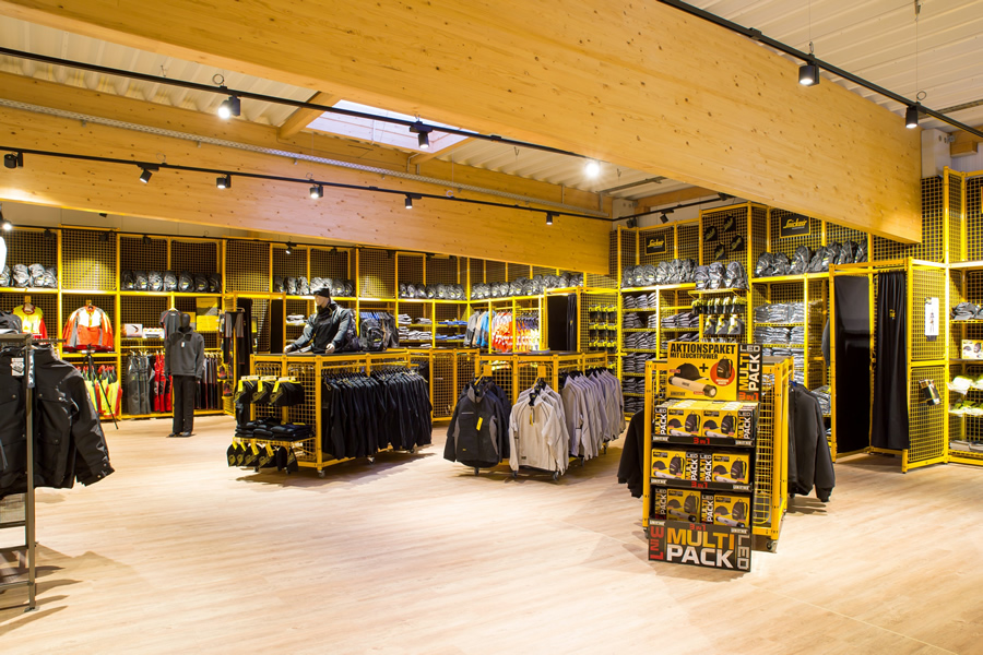 Rundgang Snickers Concept Store